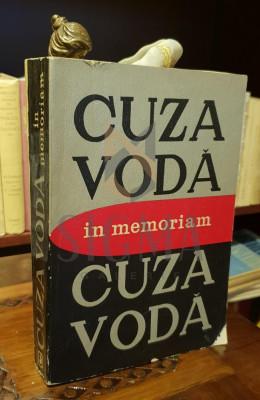 CUZA VODA, IN MEMORIAM - L. BOICU, GH.PLATON, AL. ZUB foto
