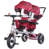 Cumpara ieftin Tricicleta gemeni Chipolino 2Play Orchid