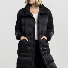 Geaca oversized puffer coat dama Urban Classics S EU, Negru