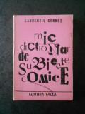 LAURENTIU CERNET - MIC DICTIONAR DE SUBIECTE COMICE