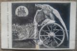Regele Carol pe patul de moarte/ CP, cu defect