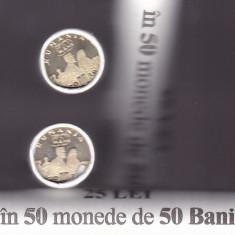 REGINA MARIA  - FASIC 25 MONEDE UNC,2019,ROMANIA