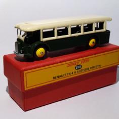 Macheta Renault TN 4 H Autobus Parisien - Dinky Toys