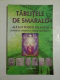 TABLITELE DE SMARALD ALE LUI THOTH ATLANTUL CUNOSCUT ULTERIOR CA HERMES TRISMEGISTUS