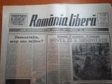Ziarul romania libera 17 februarie 1990-timisoara 17 decembrie-17 februarie