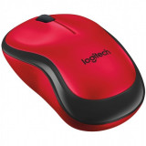 Mouse wireless silentios Rosu, Logitech M220