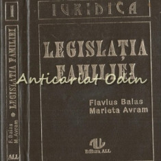 Legislatia Familiei - Flavius A. Balas, Marieta Avram