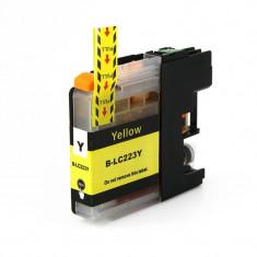 Cartus compatibil LC 223Y Yellow pentru imprimante Brother, 10 ml