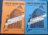 Lot 5 Sherlock Holmes - Biciclista / Diamantul / Gerard / Semnul / Crima ciudata