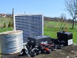 Pachet gard electric cu Panou solar pentru 6 Hectar Garanție 2 ani