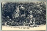 AD 467 C. P. VECHE -VERSAILLES -LE PARC DES BAINS D'APOLLON  -FRANTA, Circulata, Printata