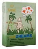 Prezervative AMOR Wild Dreams 3 buc.