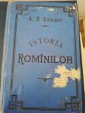A.D. XENOPOL - ISTORIA ROMINILOR DIN DACIA TRAIANA, VOL. V, 1896