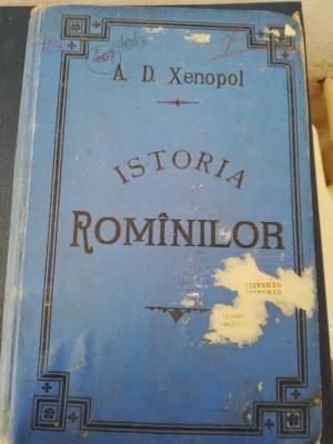 A.D. XENOPOL - ISTORIA ROMINILOR DIN DACIA TRAIANA, VOL. V, 1896 foto