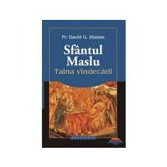 Sfantul Maslu, Taina vindecarii - Pr. David G. Bissias