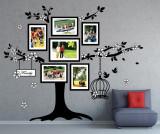 Sticker cu 6 rame foto Photo Frame Birdcage