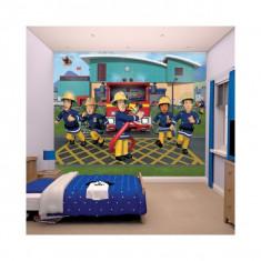 Tapet pentru copii Pompierul Sam - Walltastic