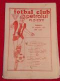 Program meci fotbal PETROLUL PLOIESTI - SPORTUL STUDENTESC (20.11.1977)