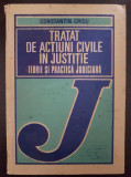 TRATAT DE ACTIUNI CIVILE IN JUSTITIE Teorie si Practica Judiciara - Crisu