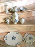 VILLEROY & BOCH -Val Bleu  set Cafea , ceai deosebit 8 persoane, Set ceai