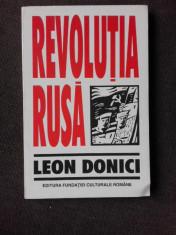 REVOLUTIA RUSA - LEON DONICI foto