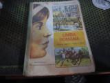 Manual limba romana clasa 6 an 1992 vitrina