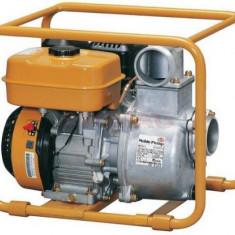 Motopompa Worms TH63EX pentru apa murdara, Debit apa 56000 l/h, Diametru refulare 75 mm, Motor Subaru 5.7 cp, Benzina