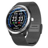 Ceas smartwatch N58, ritm cardiac, PPG+EKG, tensiunea arteriala, BT 4.0,...