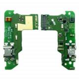 Banda Flex Placa Circuit Conector Incarcare si Microfon Huawei Y6 2018