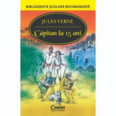 Carte Editura Corint, Capitan la 15 ani, Jules Verne