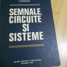 GH. CARTIANU--SEMNALE, CIRCUITE SI SISTEME - 1980