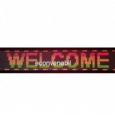 Panou Afisaj Reclama Luminoasa cu LEDuri Color 100x20cm