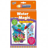 Carte de colorat cu apa - Lumea Acvatica - Water Magic.