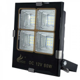 Proiector LEDuri SMD Alb Rece IP65 80W CaiCai Clesti Auto 12V