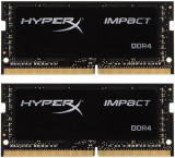 Memorii laptop Kingston HyperX Impact, DDR4, 2x8GB, 2400MHz, CL14, 1.2V, Dual Channel