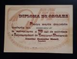 Diploma de onoare ITB - Pentru merite deosebite - 1984 - Transporturi