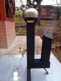 Soba racheta camping cu motor stirling incarcare telefon, iluminare