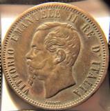 ITALIA Vittorio Emanuele II 10 Centesimi 1866 M Milano -, Europa