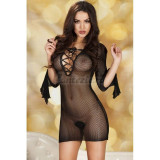 Black Ladies Minidress CR 3609 - S/M