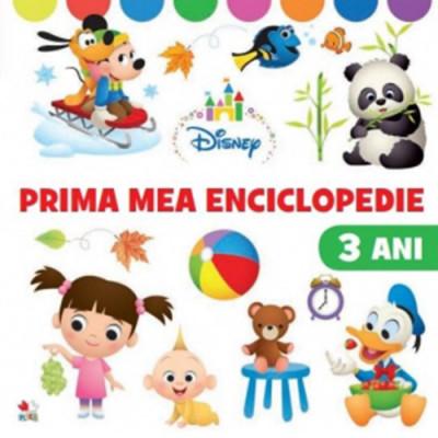 Disney - Prima mea enciclopedie - 3 ani foto