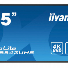 Monitor Iiyama Pro Lite LH5542UHS-B1 55 inch 8ms Ultra HD 4K Black