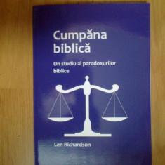 w1 Cumpana biblica - un studiu al paradoxurilor biblice