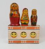 Papusa originala Matrioska ruseasca la cutie