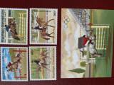 Republica centrafricană - Timbre sport, jocurile olimpice 1984, nestampilate MNH, Nestampilat