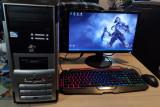 Sistem complet desktop pentru office/light gaming, Intel Core i3, Gigabyte