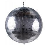 Cumpara ieftin Glob disco pentru petreceri Mirror Ball, diametru 36 cm, Argintiu