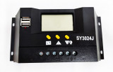 Regulator Controler Solar PWM 30A, 12V24V, 2 X USB Si LCD