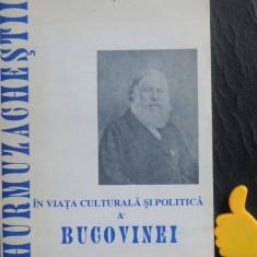 Hurmuzachestii in viata culturala si politica a Bucovinei Petru Russindilar