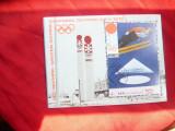 Bloc YAR 1971 Olimpiada Iarna Sapporo - Schior , stampilat