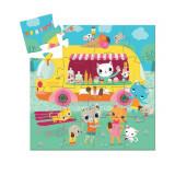 Puzzle Djeco – Masina de inghetata